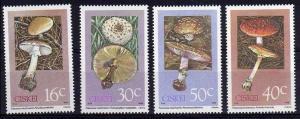 1988 Ciskei 145-148 Mushrooms