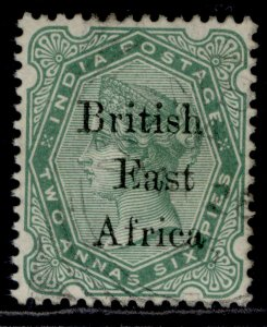 BRITISH EAST AFRICA QV SG49, ½a blue-green, FINE USED.