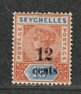 Seychelles Sc#23 M/H/VF, Cv. $21