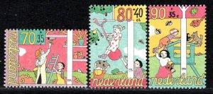Netherlands Scott # B683 - B685, mint nh
