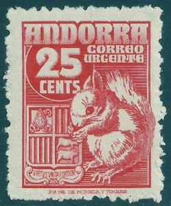 ANDORRA-SPANISH SCOTT E5