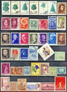 ROMANIA STAMP  LOT #4   CTO & USED SEE SCAN