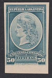 ARGENTINA - Plate proof on thick card.......................................D684