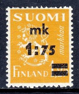 Finland - Scott #221 - MLH - Gum bump - SCV $3.00