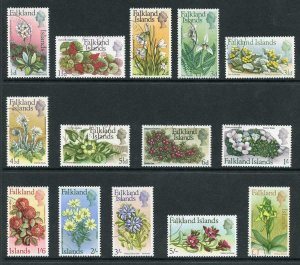 Falkland Is SG232/45 1968 Flowers set CDS used