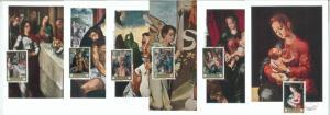 68898 - SPAIN - Set of 10 MAXIMUM CARDS 1970  - ART  Morales