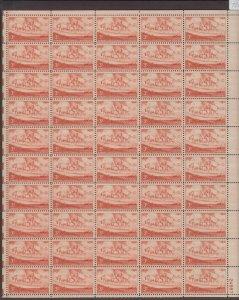 US,1061,KANSAS,MNH VF, FULL SHEET,1950'S COLLECTION,MINT NH ,VF