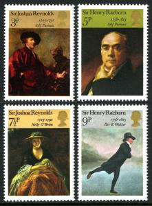 Great Britain MNH 697-700 Paintings