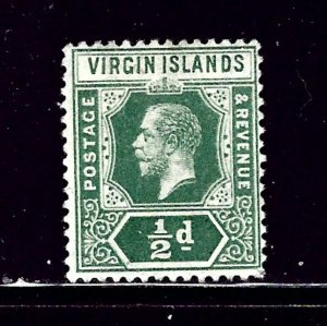 Virgin Is 38 MH 1913 issue