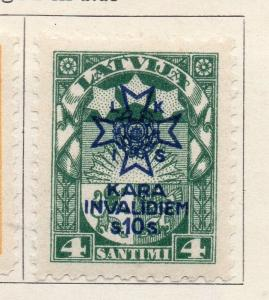 Latvia 1923-24 Early Issue Fine Mint Hinged 4s. 267754
