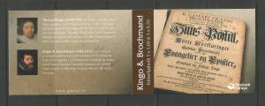 FAROE ISLANDS – 2003 - COMPLETE BOOKLET – KINGO & BROCHMAND – w/ FD Cancel