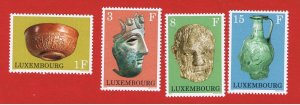 Luxembourg #508-511  MNH OG  Masks   Free S/H