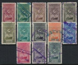 Venezuela #C256-68  CV $8.30