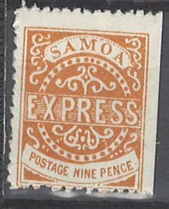COLLECTION LOT # 2194 SAMOA  #5 1880 CV=$80