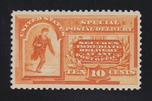 US E3 10c Special Delivery Mint VF-XF OG LH w/ PF Cert SCV $300