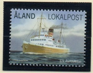 Aland Finland Sc 339 2013 Ferry SS Alandsfarjan stamp mint NH