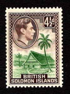 SOLOMON ISLANDS  SC# 73  FVF/MOG