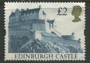 Great Britain -Scott 1447 - QEII - Castles -1992 - Used - Single  £2.00p  Stamp