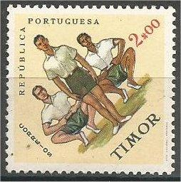 TIMOR, 1962, MNH 2e, Sports Issue. Gymnastics. Scott 316