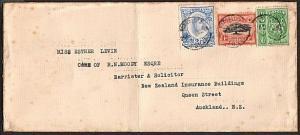 TONGA 1940s commercial cover Nuku'alofa to NZ..............................15994