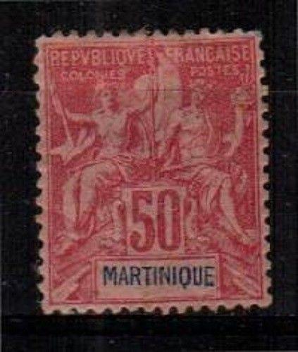 Martinique Scott 48 Mint hinged (Catalog Value $40.00) [TC756]
