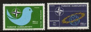 Turkey B128-9 MNH NATO, Military
