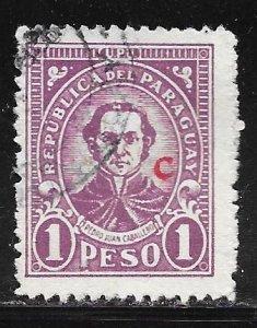Paraguay L22: 1p Pedro Juan Caballero, used, F-VF
