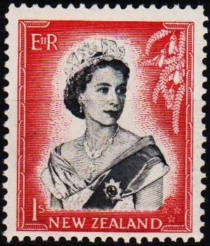 New Zealand. 1953 1s S.G.732 Mounted Mint
