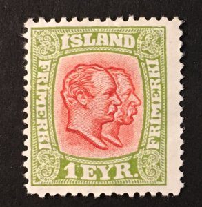 Iceland Sc. #99, mint hinged