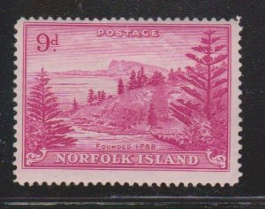 NORFOLK ISLAND Scott # 10 MH - Pine Trees