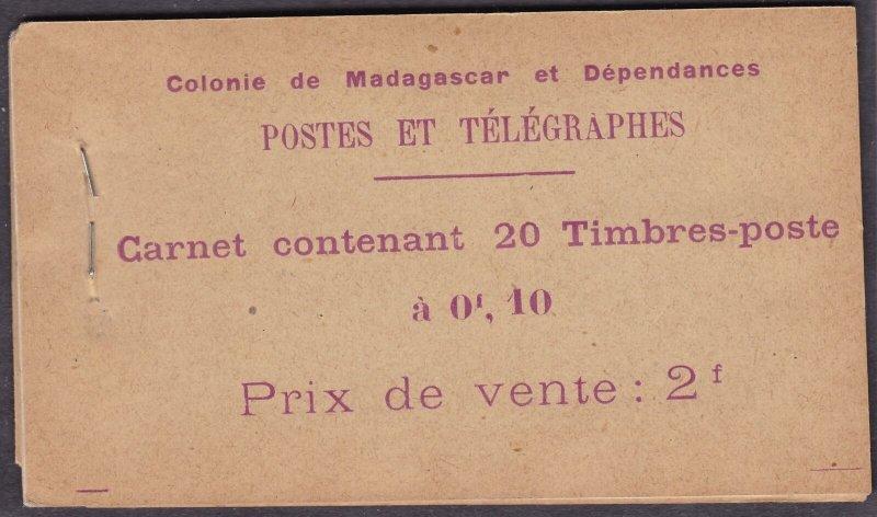 1922 Senegal - Booklet/Carnets/Booklet N°5 10c. Vert MNH /