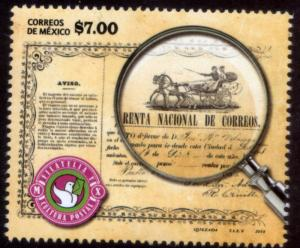 MEXICO 2924, Philately and Postal Culture. MINT, NH. VF.