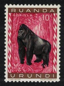 Ruanda-Urundi Gorilla 10c SG#203 MI#161A