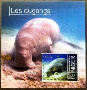 *FREE SHIP Niger Dugongs 2013 Marine Life Mammals Fish Ocean (ms) MNH