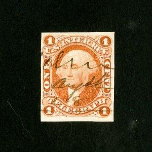 US Stamps # R4a VF 4 Margins Used Catalog Value $800.00