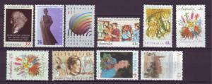 J12172 JL stamps 1989-90 australia sets of 1 mh