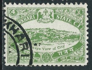 India-Charkhari, Sc #31, 4a Used