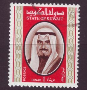J3109 JL stamps 1978 kuwait used #762 $12.50v sheik sabah