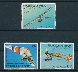 [98289] Djibouti 1984 Aviation Ultra light flying  MNH