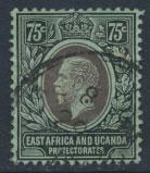 East Africa & Uganda Protectorate Used - SG 52b SC#48 - see details