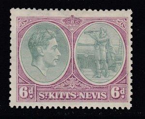 St. Kitts-Nevis, Sc 85a (SG 74), MLH