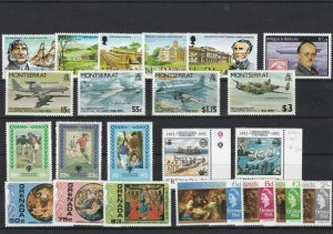 British Commonwealth Mint Never Hinged Stamps Ref 26254