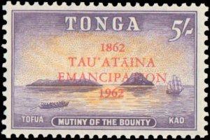 Tonga #119-126, Complete Set(8), 1962, Never Hinged