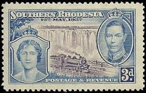 Southern Rhodesia  - 40  - Unused - SCV-2.00