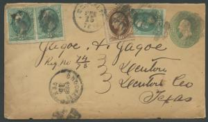 TEXAS HOUSTON CTY (1870's Crockett) (Reg.) (179)