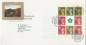 C249 - ILLUSTRATED FDC JUL 1994 - BOOKLET PANE NI70l (DX16) NORTHERN IRELAND