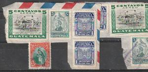 #214,317,C159,RA23 Guatemala Used on paper
