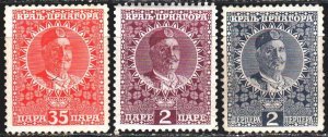 Montenegro. 1913. 87-96 from the series. King of Montenegro. MLH.