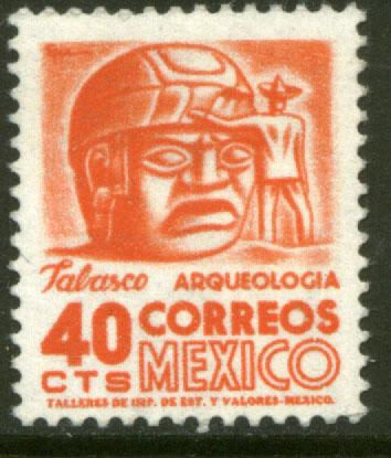 MEXICO 948, 40cents 1950 Definitive 3rd Printing wmk 350. MINT, NH. F-VF.
