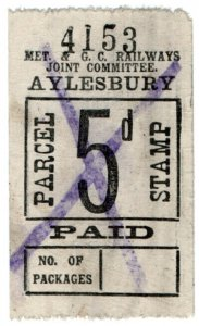 (I.B) Metropolitan & Great Central Joint Railway : Parcel 5d (Aylesbury)